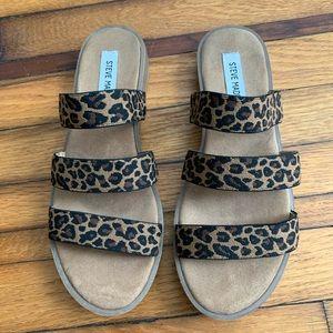 Leopard Steve Madden Sandals